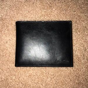🖤Men's Calvin Klein Leather Wallet!